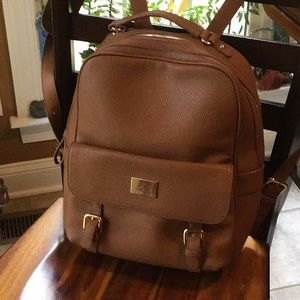 Awesome Renwick leather backpack